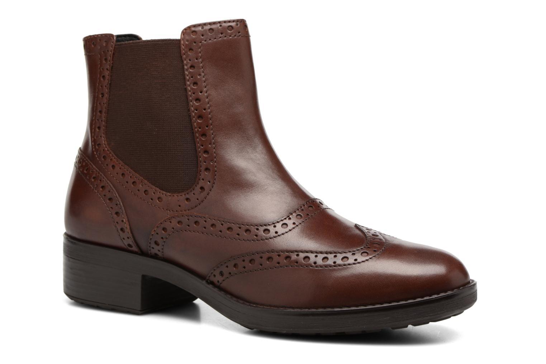 Bottines et boots Geox D Ettiene B D746BB Marron vue détail/paire