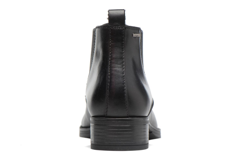 Bottines et boots Geox D Mendi Np Abx A D746SA Noir vue droite