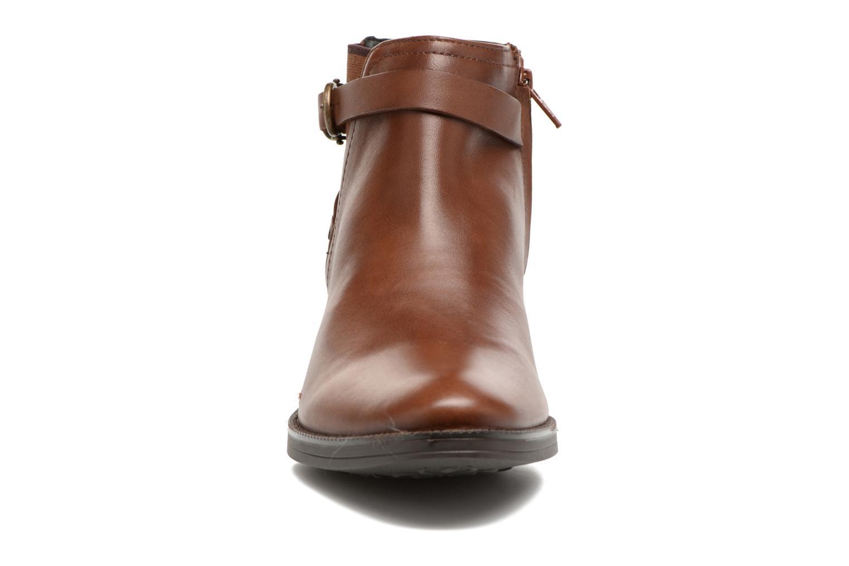 Bottines et boots Geox D Mendi Np Abx D D746SD Marron vue portées chaussures