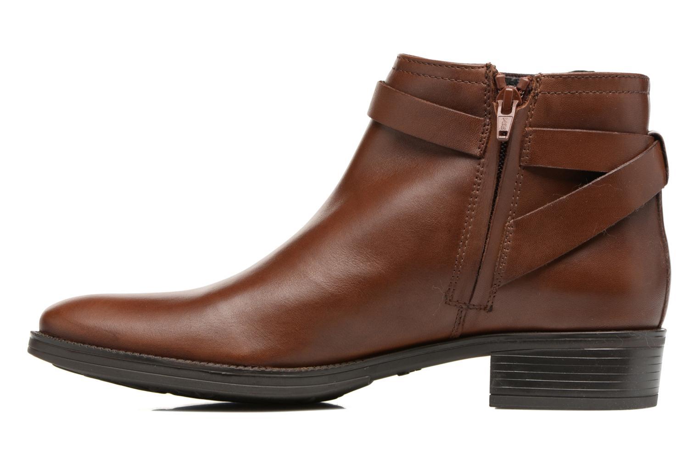 Bottines et boots Geox D Mendi Np Abx D D746SD Marron vue face