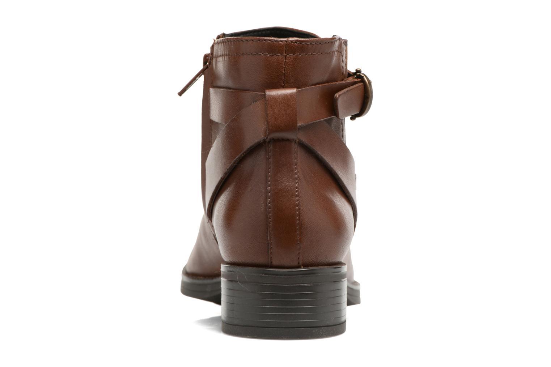 Bottines et boots Geox D Mendi Np Abx D D746SD Marron vue droite