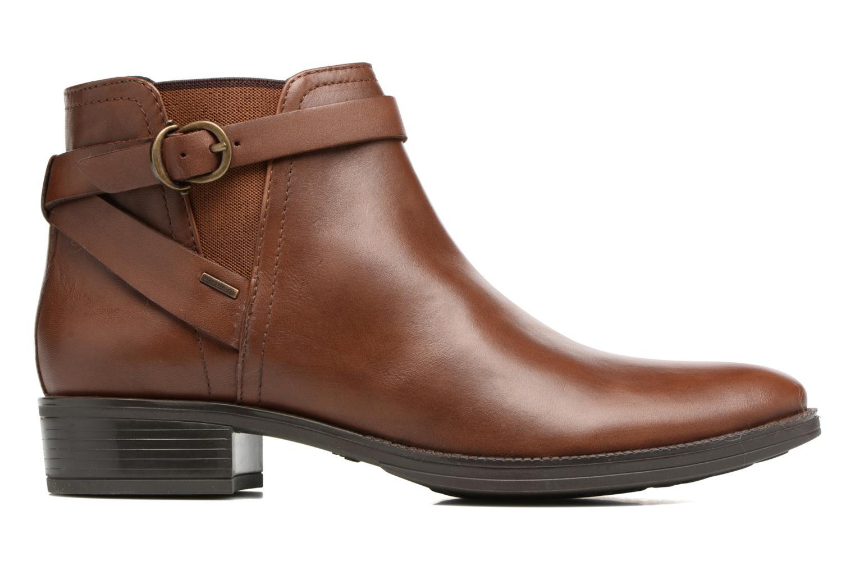 Bottines et boots Geox D Mendi Np Abx D D746SD Marron vue derrière