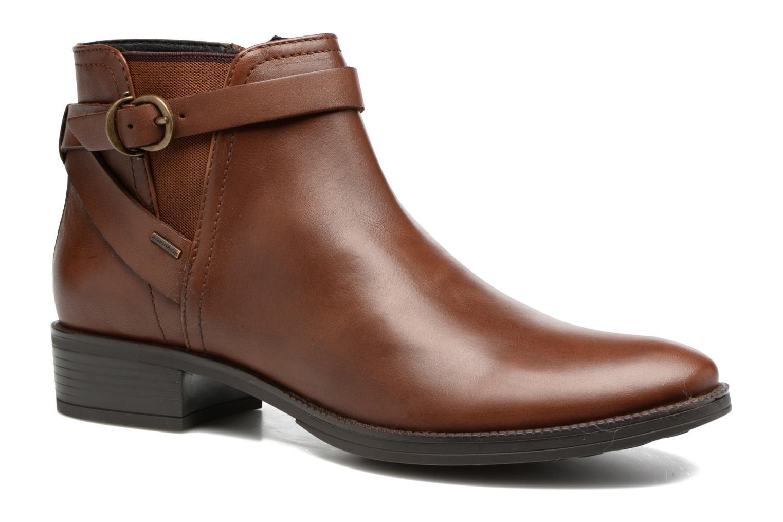 Bottines et boots Geox D Mendi Np Abx D D746SD Marron vue détail/paire