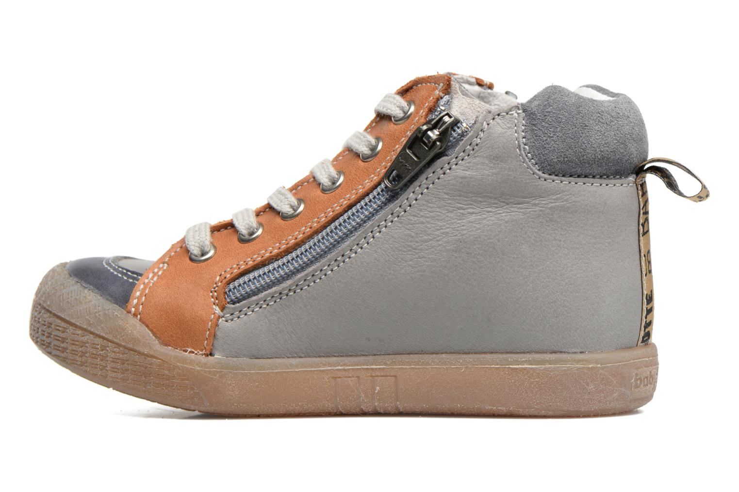 Trainers Babybotte Afolan Grey front view