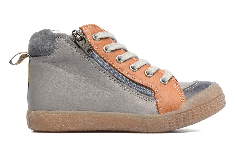 Sneaker Babybotte Afolan grau ansicht von hinten