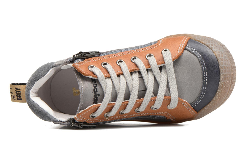 Sneaker Babybotte Afolan grau ansicht von links