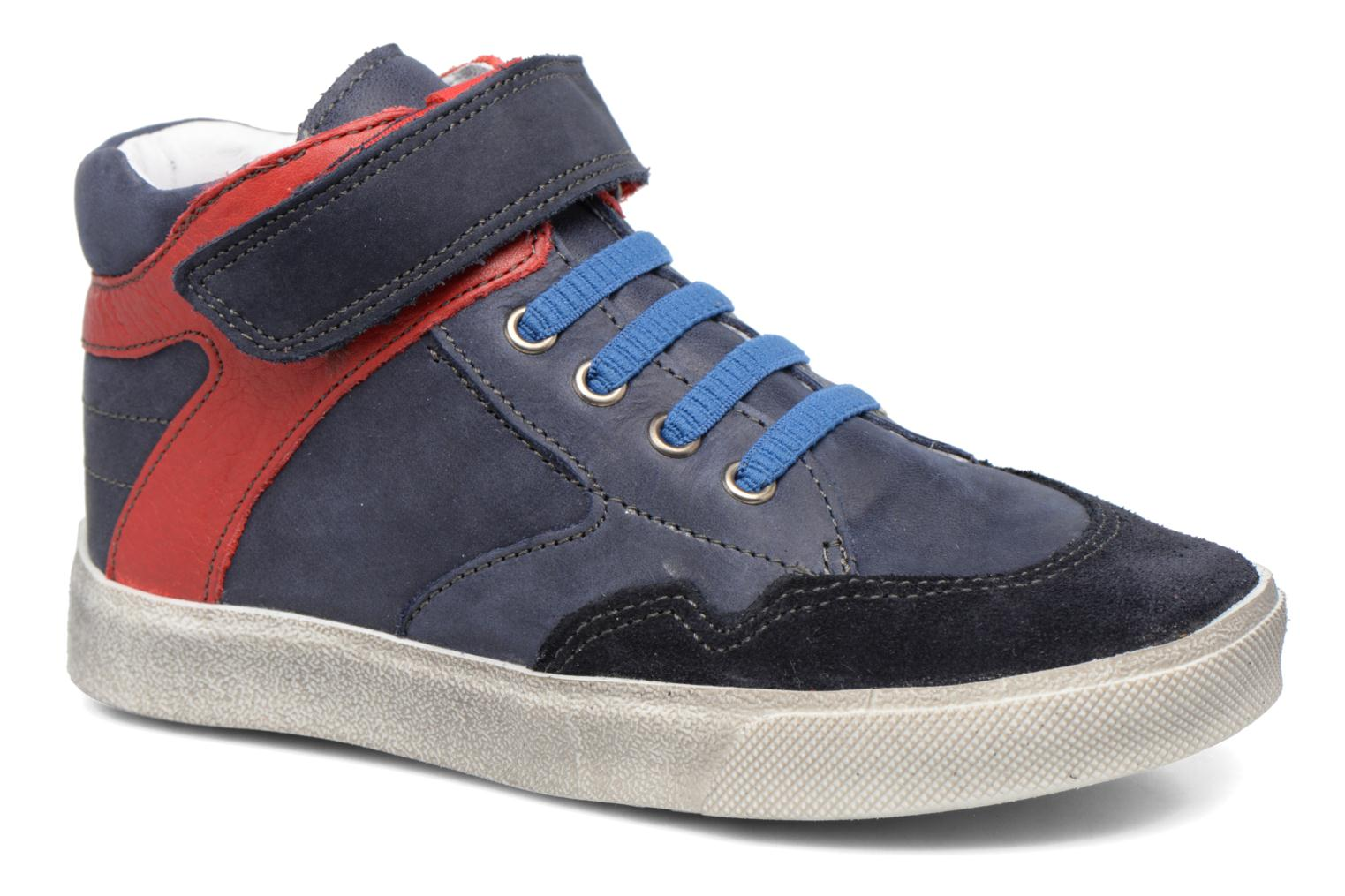 Trainers Babybotte Karamel Blue detailed view/ Pair view