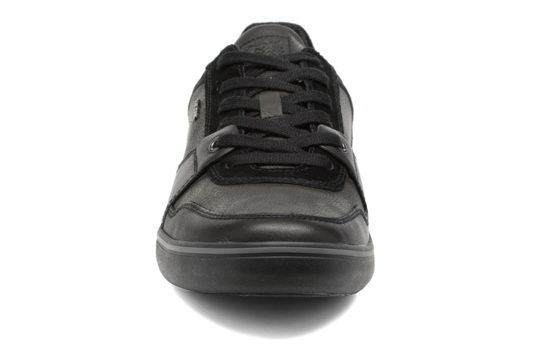 Baskets Geox U Box A U74R3A Noir vue portées chaussures
