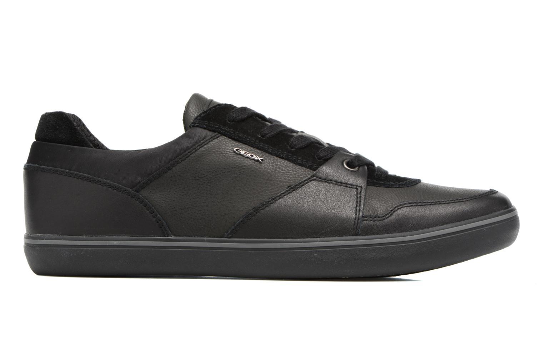 Sneakers Geox U Box A U74R3A Zwart achterkant