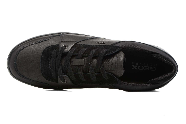 Sneakers Geox U Box A U74R3A Zwart links