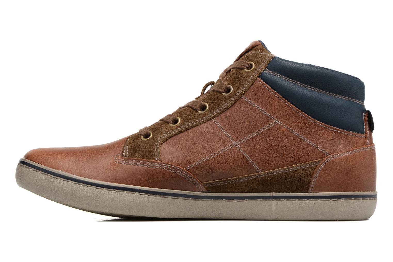 Sneakers Geox U Box C U74R3C Bruin voorkant