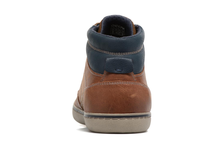 Sneakers Geox U Box C U74R3C Bruin rechts