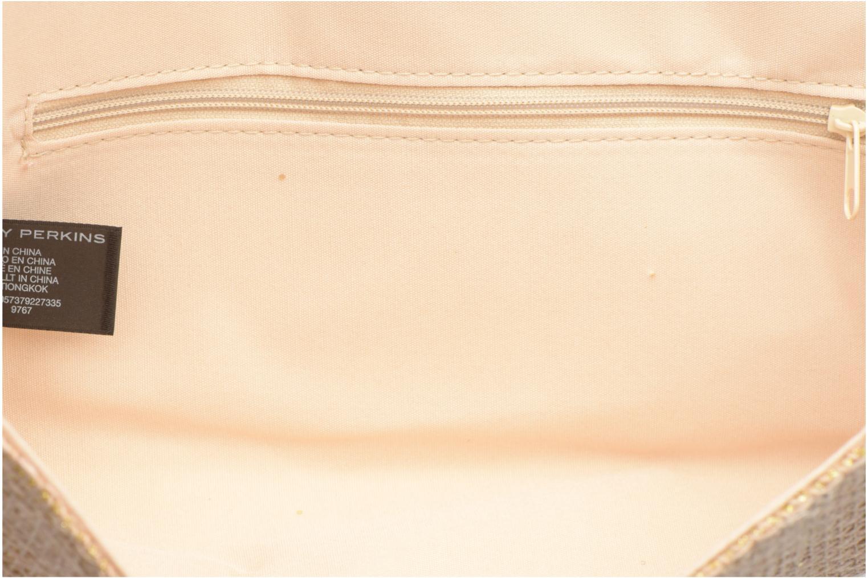 Petite Maroquinerie Dorothy Perkins woven bow Or et bronze vue derrière