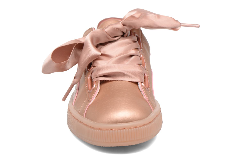 Baskets Puma Heart COOPER Rose vue portées chaussures