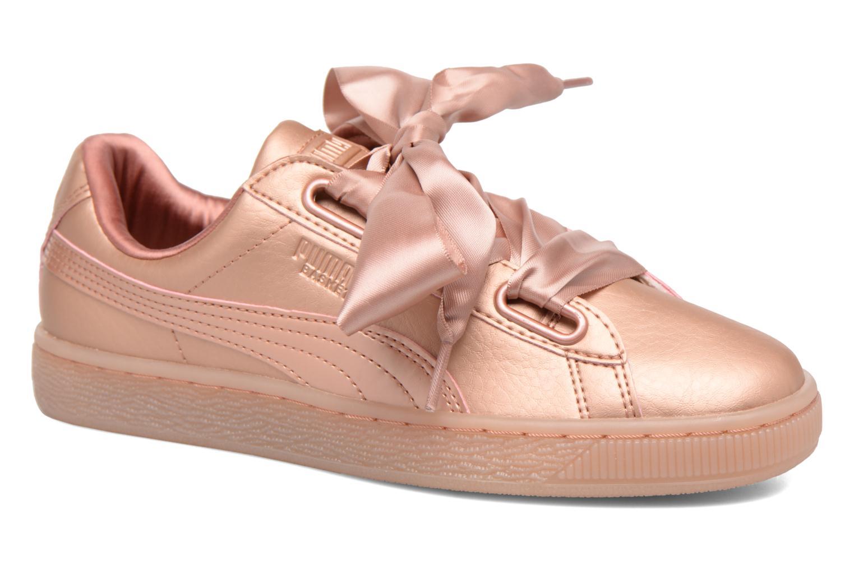 Baskets Puma Heart COOPER Rose vue détail/paire
