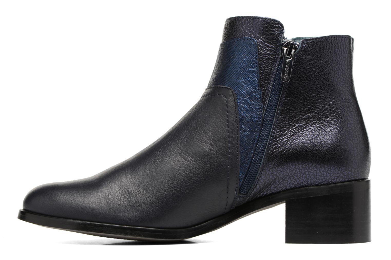 Bottines et boots Karston GLENO Bleu vue face