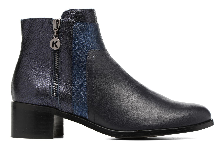 Bottines et boots Karston GLENO Bleu vue derrière