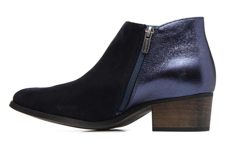 Bottines et boots Karston GLUBIUS Bleu vue face