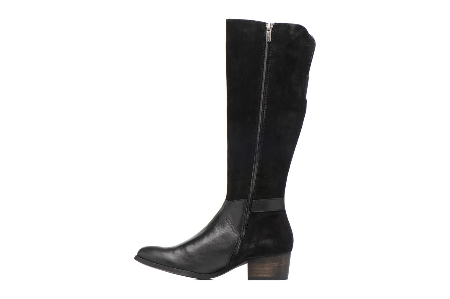 Boots & wellies Karston GLUSTAV Black front view