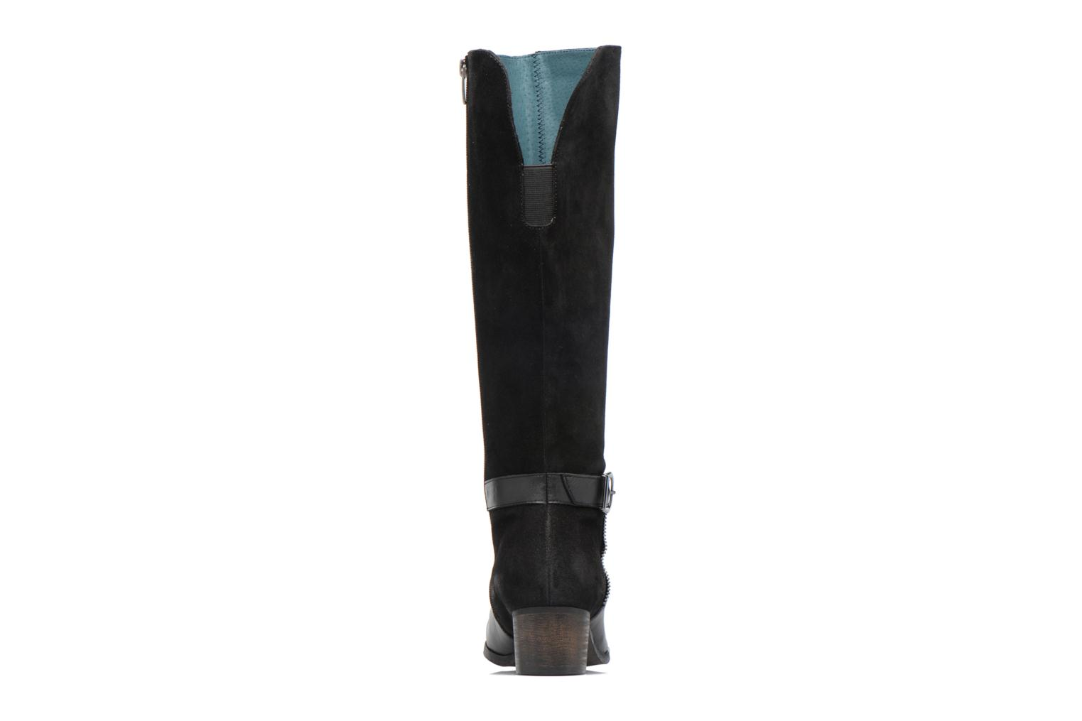 Boots & wellies Karston GLUSTAV Black view from the right