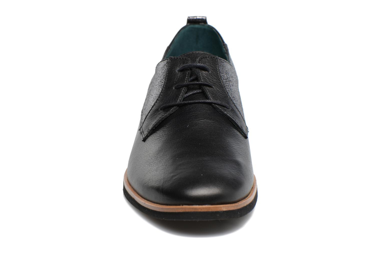 Zapatos con cordones Karston JISIOU Negro vista del modelo