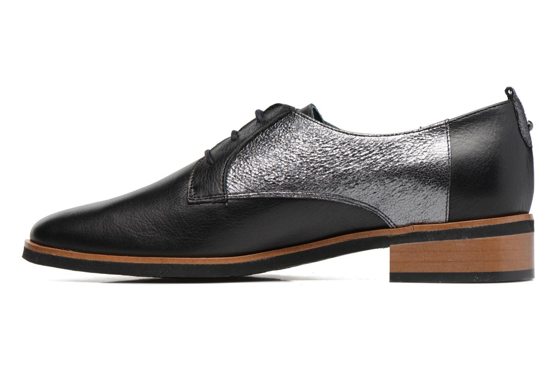 Zapatos con cordones Karston JISIOU Negro vista de frente