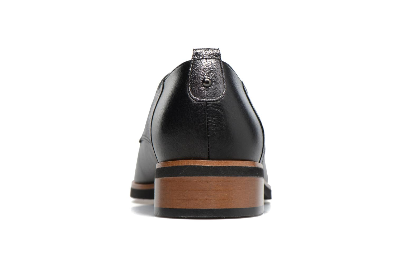 Zapatos con cordones Karston JISIOU Negro vista lateral derecha