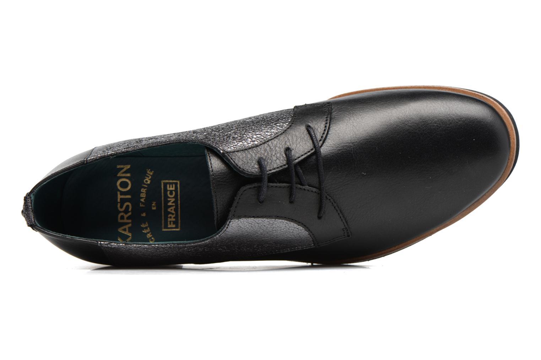Zapatos con cordones Karston JISIOU Negro vista lateral izquierda