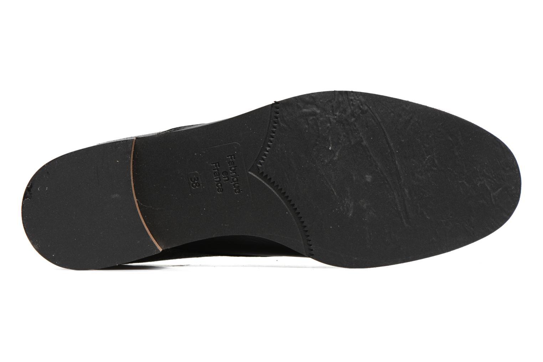 Zapatos con cordones Karston JISIOU Negro vista de arriba
