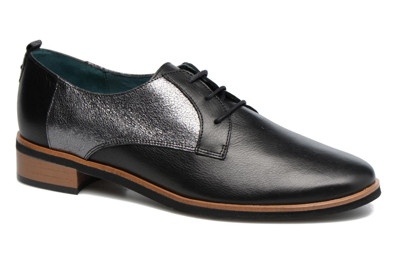 Zapatos con cordones Karston JISIOU Negro vista de detalle / par