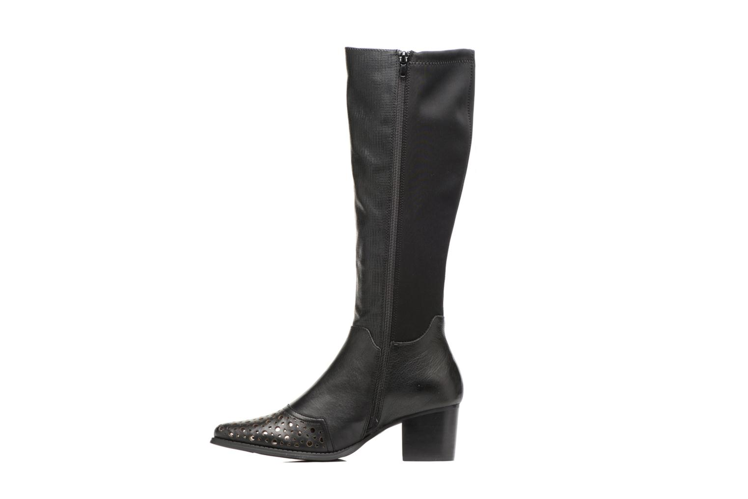 Boots & wellies Madison APELO Black front view