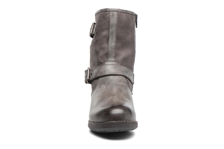 Bottines et boots S.Oliver Cecila Gris vue portées chaussures