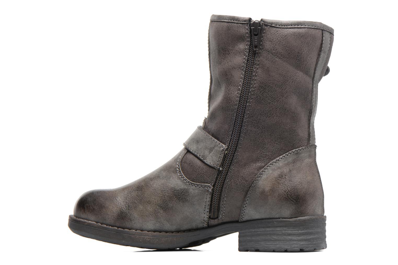 Stiefeletten & Boots S.Oliver Cecila grau ansicht von vorne