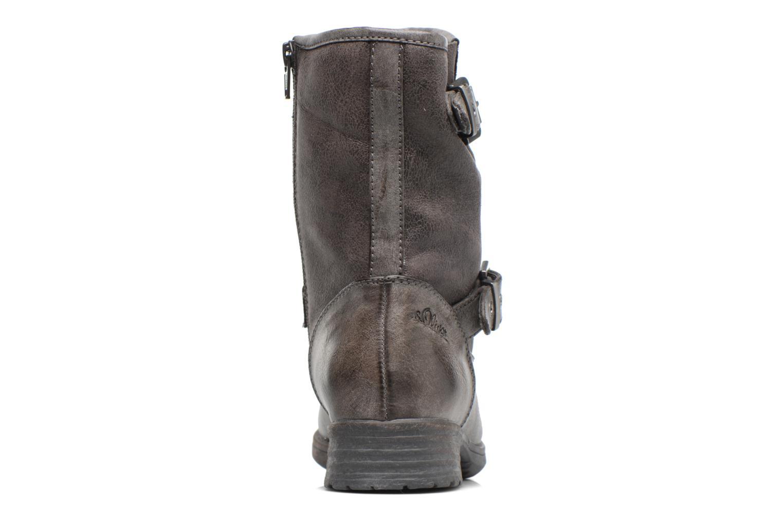Stiefeletten & Boots S.Oliver Cecila grau ansicht von rechts
