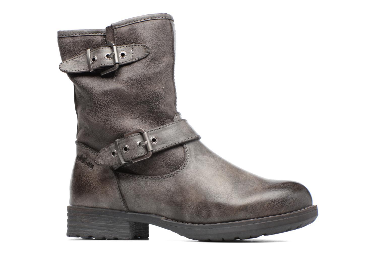 Stiefeletten & Boots S.Oliver Cecila grau ansicht von hinten