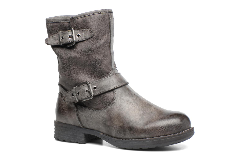 Boots en enkellaarsjes S.Oliver Cecila Grijs detail