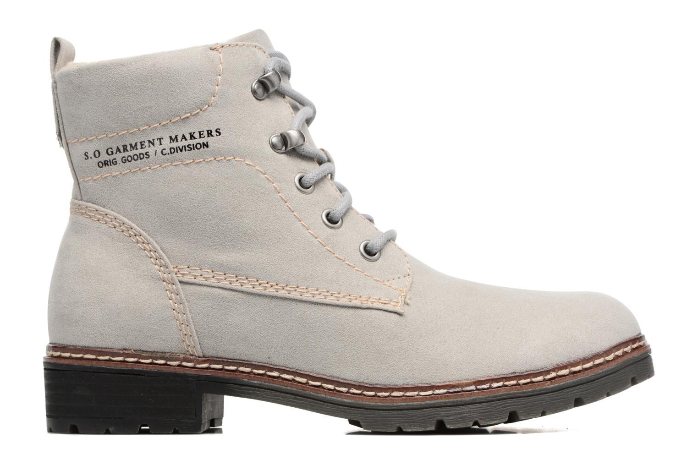 Boots en enkellaarsjes S.Oliver Cosme Grijs achterkant