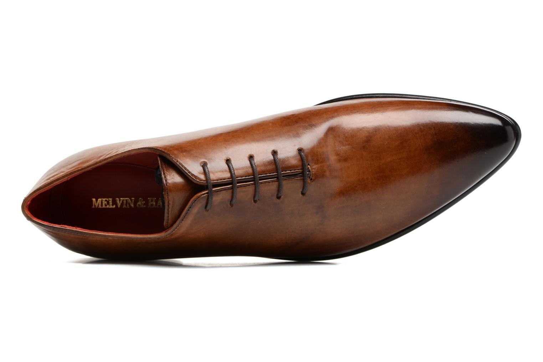 Chaussures à lacets Melvin & Hamilton Toni 26 Marron vue gauche