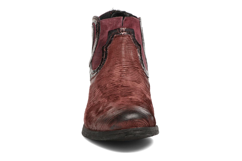 Bottines et boots Khrio Feabese Bordeaux vue portées chaussures