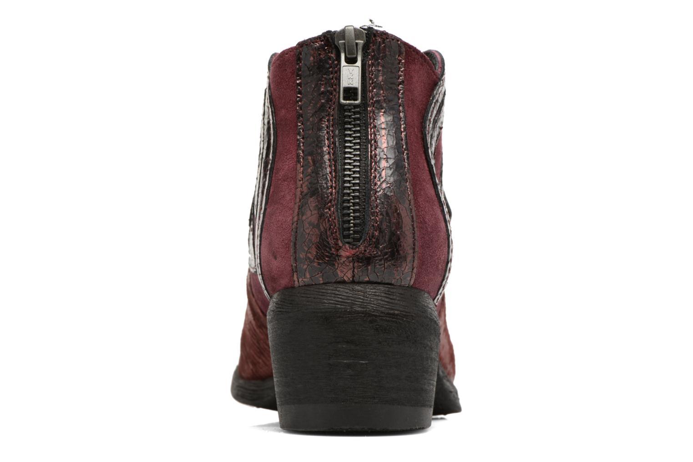 Bottines et boots Khrio Feabese Bordeaux vue droite
