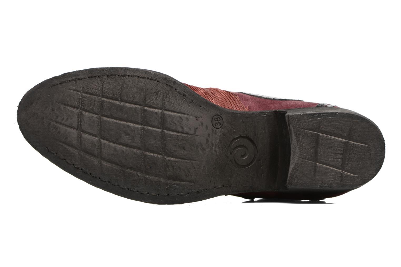 Bottines et boots Khrio Feabese Bordeaux vue haut
