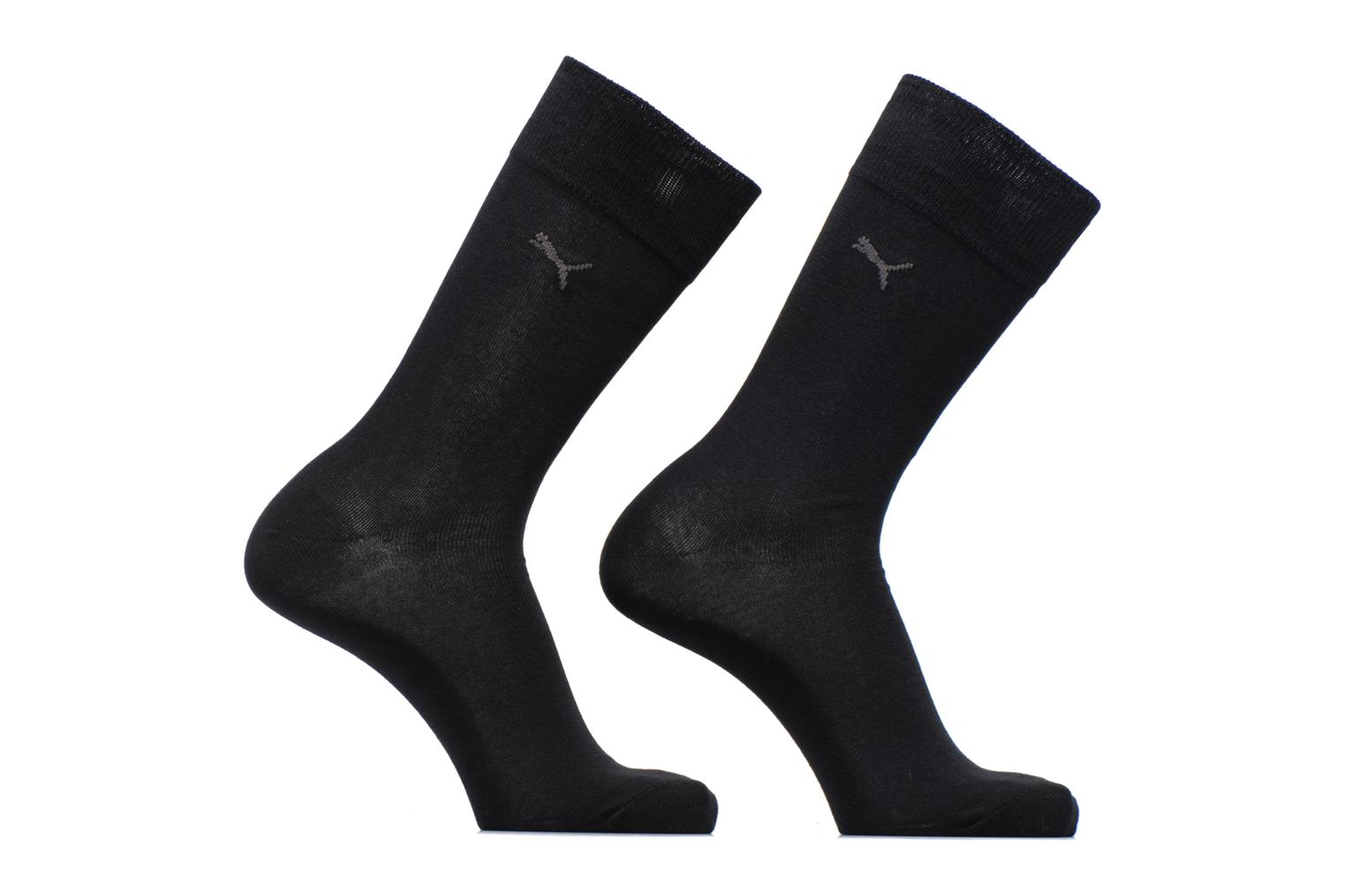 CLASSIC SOCKS LOT DE 2 200 black