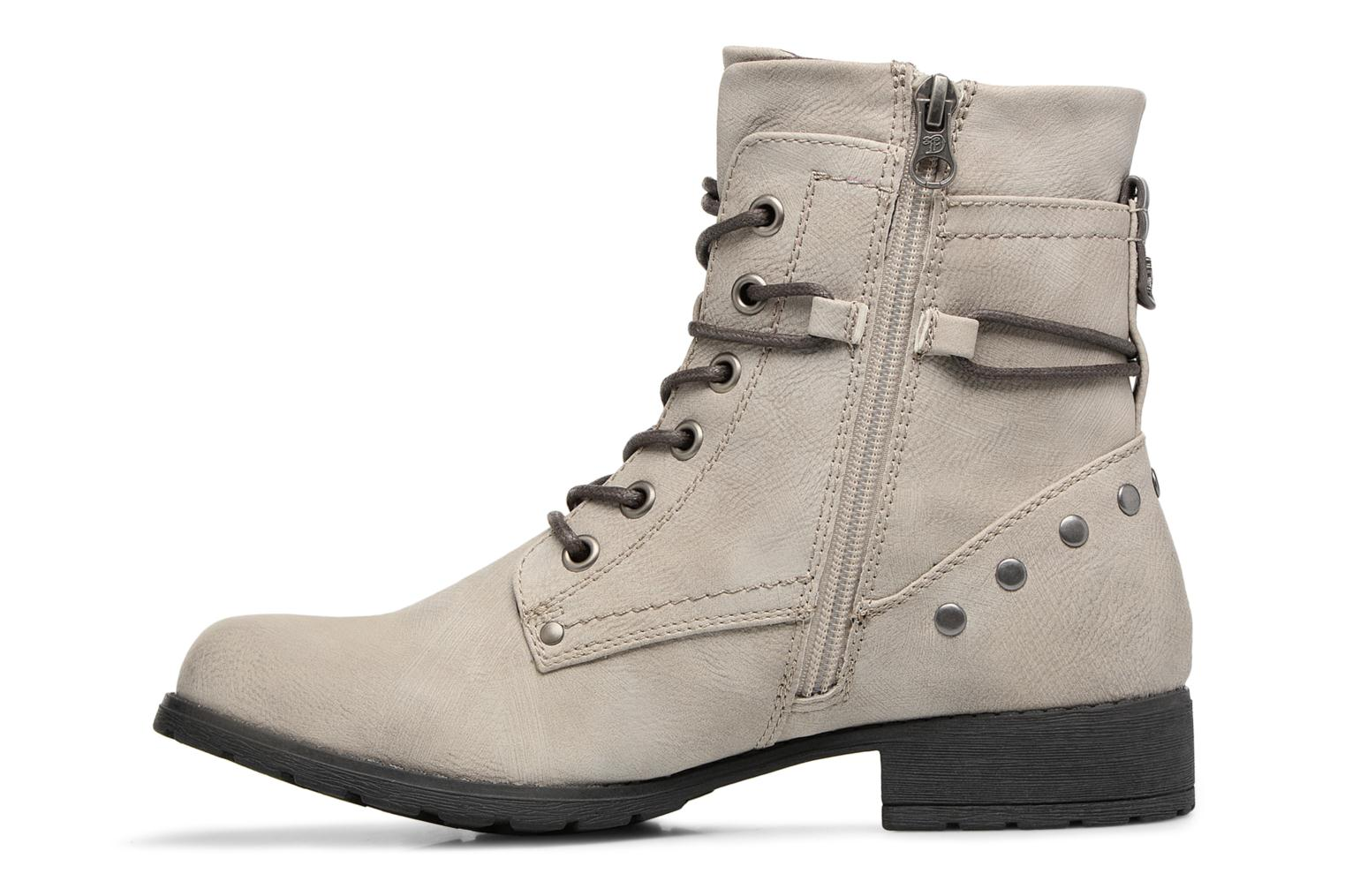 Ankle boots Tom Tailor Mélissa Grey front view