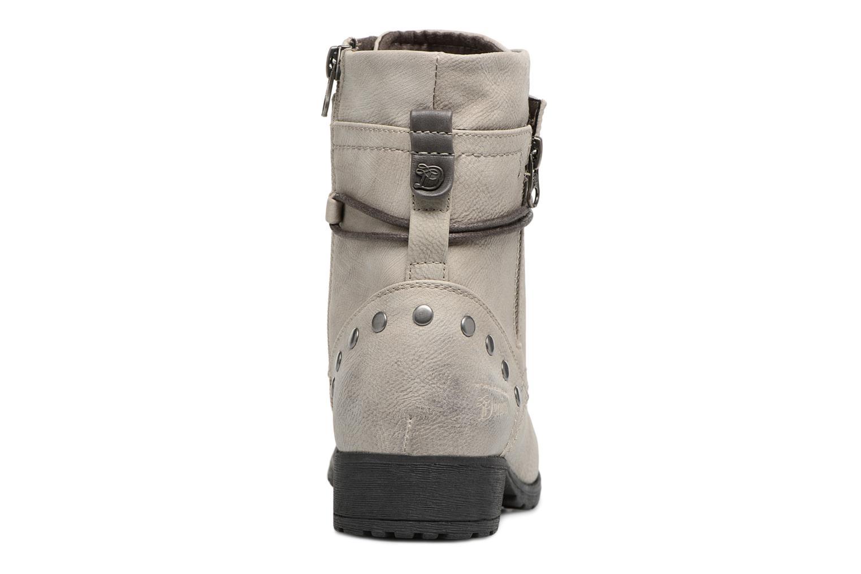 Stiefeletten & Boots Tom Tailor Mélissa grau ansicht von rechts