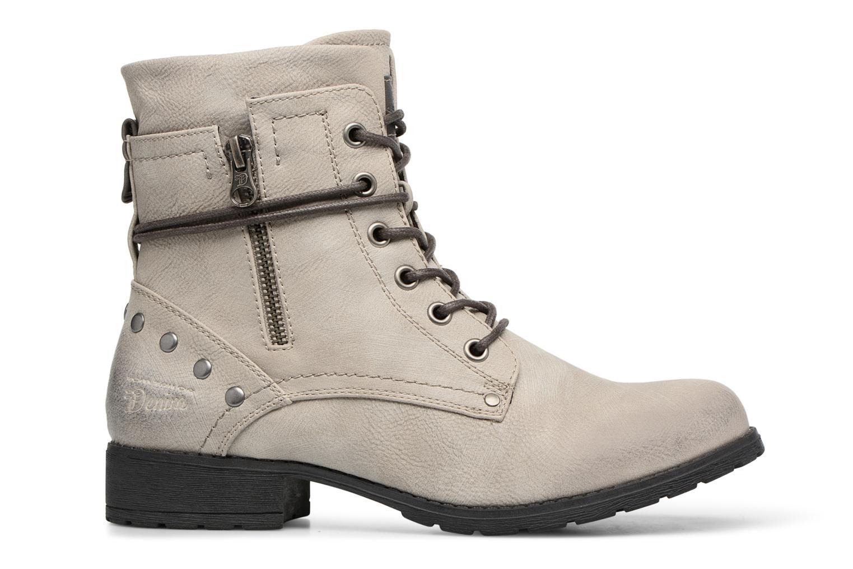Stiefeletten & Boots Tom Tailor Mélissa grau ansicht von hinten