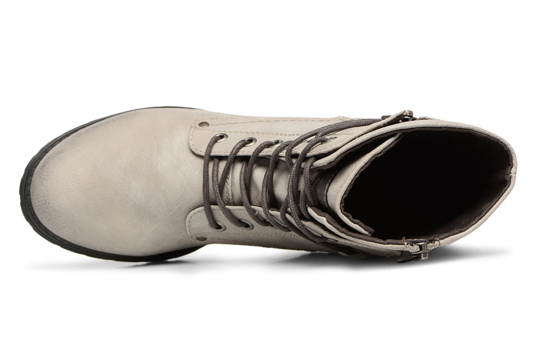 Stiefeletten & Boots Tom Tailor Mélissa grau ansicht von links