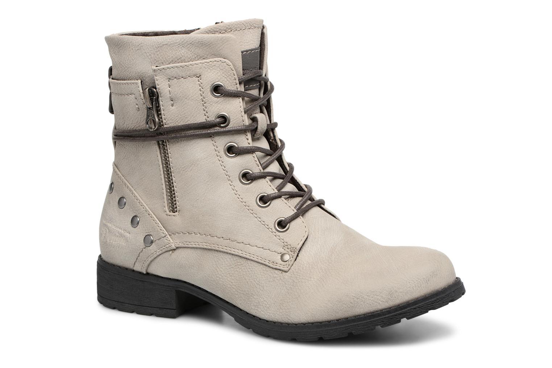 Bottines et boots Tom Tailor Mélissa Gris vue détail/paire