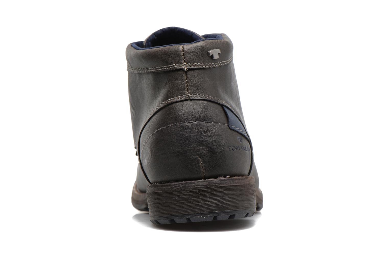 Bottines et boots Tom Tailor Léonce Gris vue droite