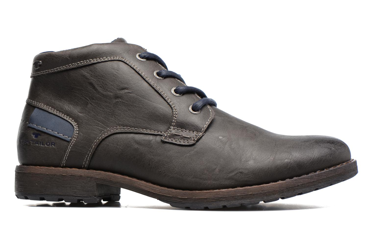 Ankle boots Tom Tailor Léonce Grey back view