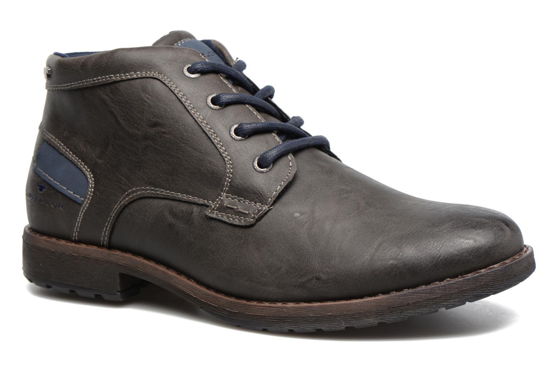 Bottines et boots Tom Tailor Léonce Gris vue détail/paire